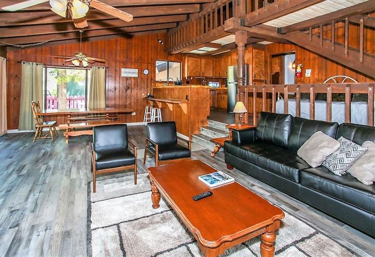 湖景漁家 121 - 大熊假期私人度假屋, 大熊湖, 單棟房屋, 3 間臥室, 客廳