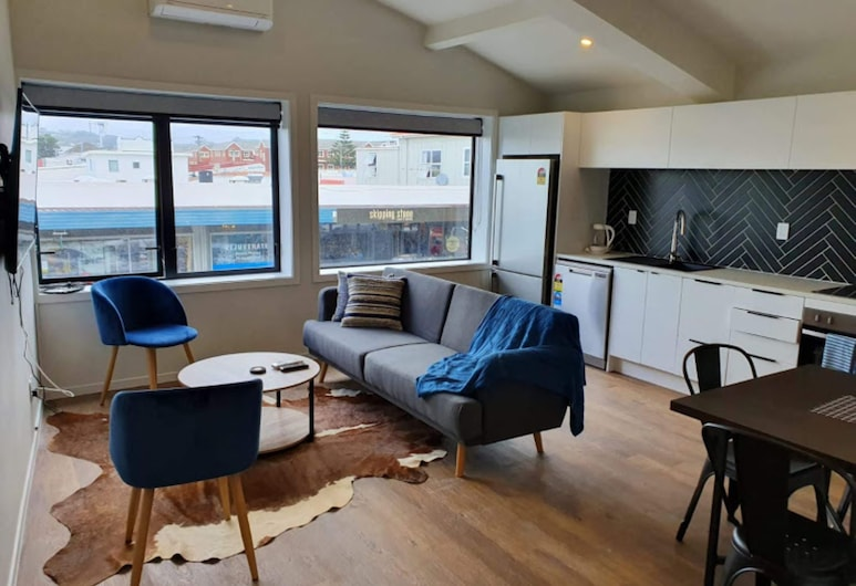 U Suites Kilbirnie, Wellington, Apartment, 2 Bedrooms, Living Area
