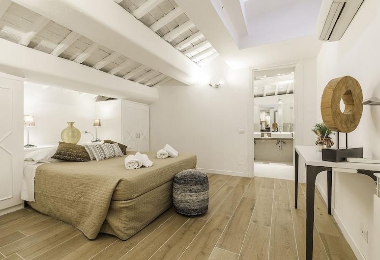 The Best in Rome Orbitelli, Roma, Appartamento, 1 letto queen con divano letto, Camera