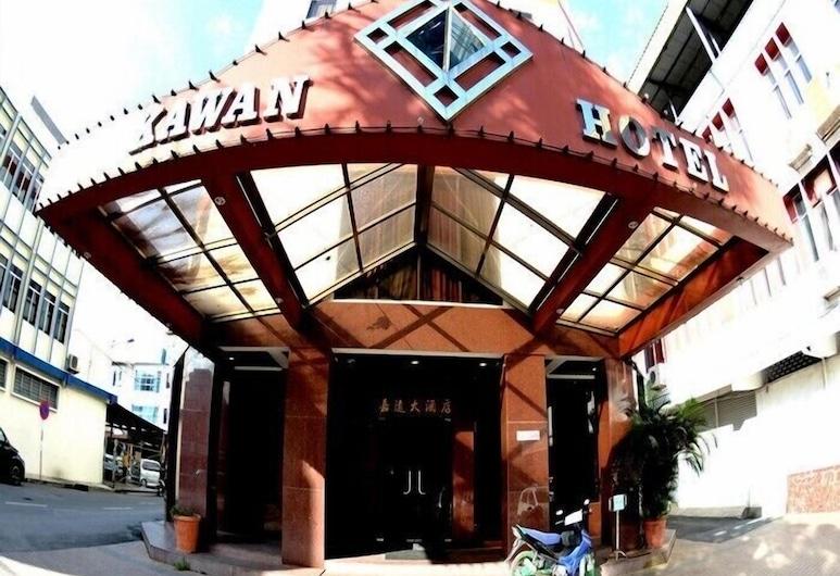 Kawan Hotel, סיבו, הכניסה למלון