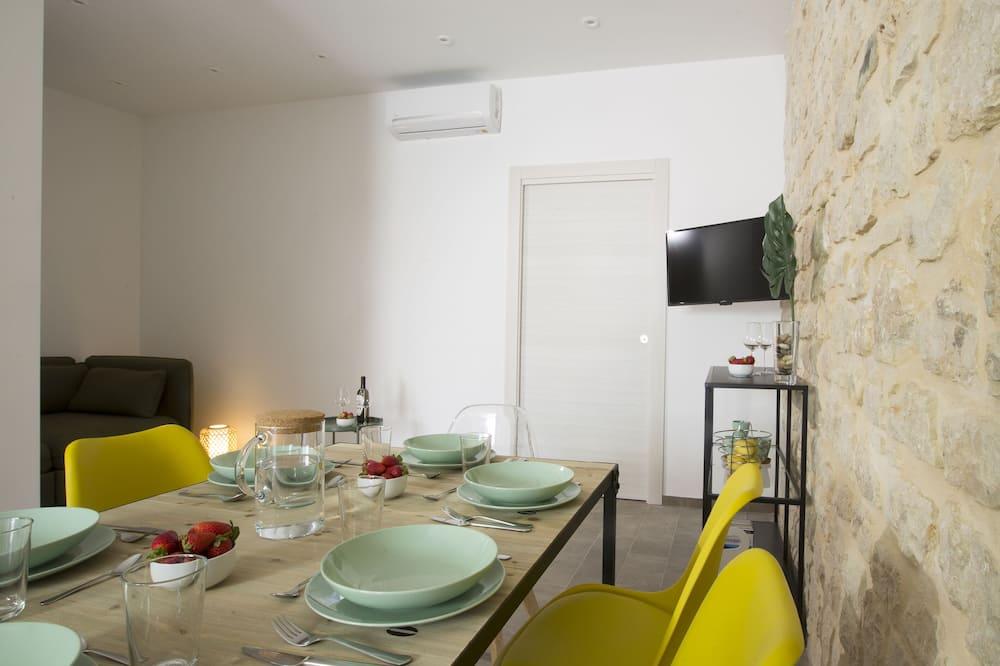 Family Apartment, 1 Bedroom, Ground Floor - Living Area