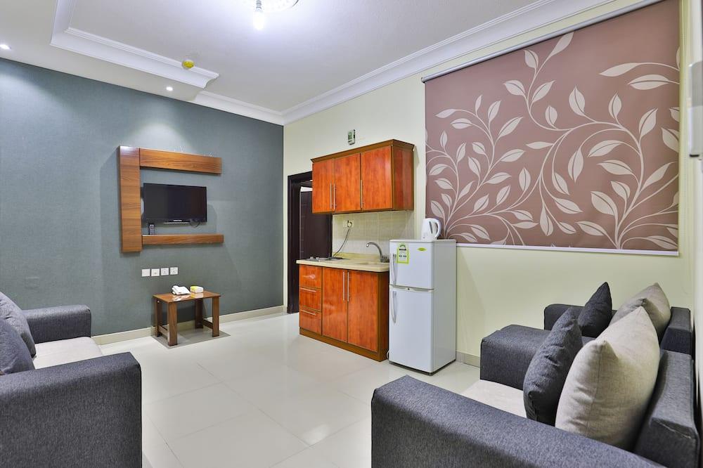 One Bedroom Apartment - Khu phòng khách