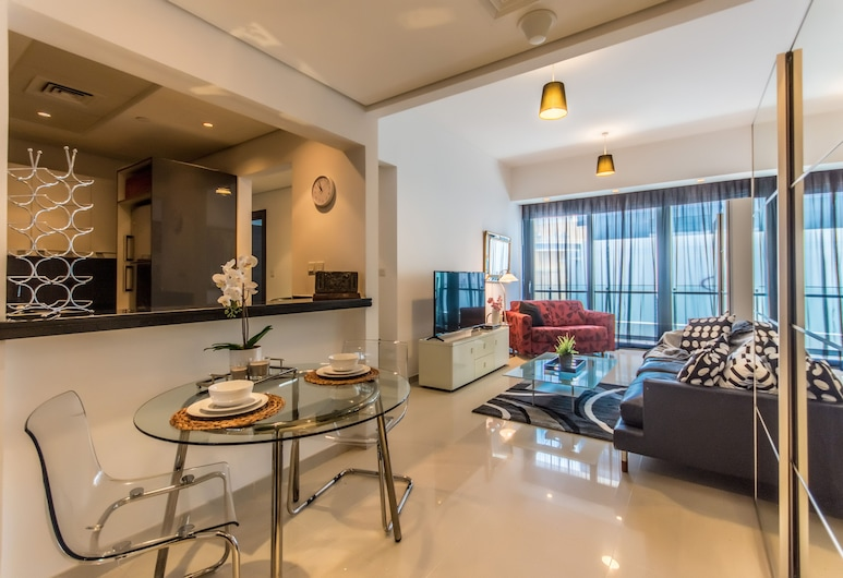 Airbetter - Silverine, Dubajus, Apartamentai, 2 miegamieji, Svetainės zona