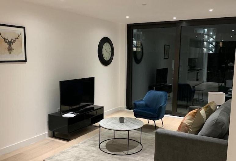 Amazing Apart. -City Airport and Excel 2, Londýn, Apartmán, 2 spálne, Obývacie priestory