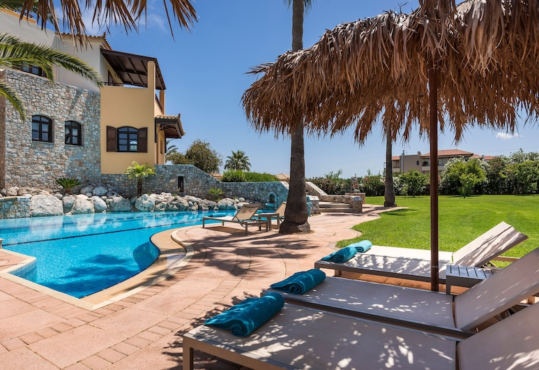 Iason Villas, Platanias, Villa (Natalie), Terrace/Patio