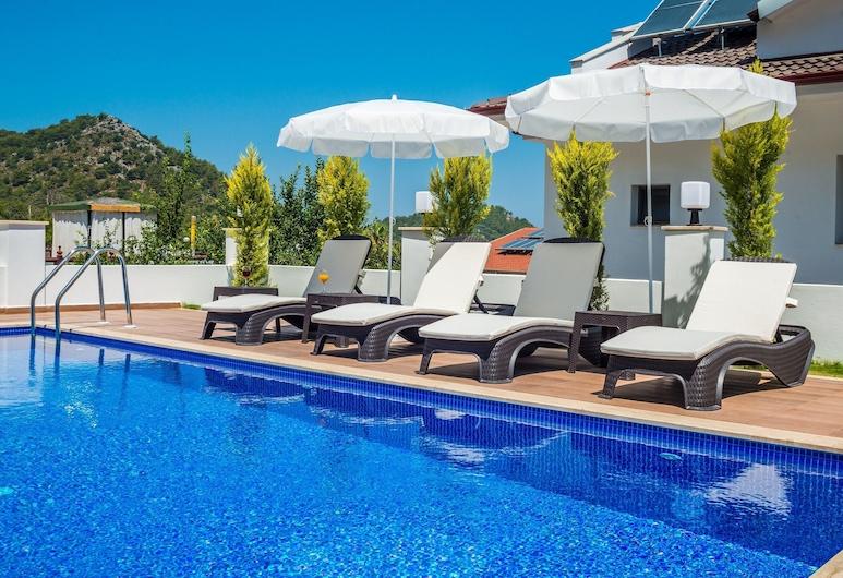 Tala Villa 4, Fethiye, Açık Yüzme Havuzu
