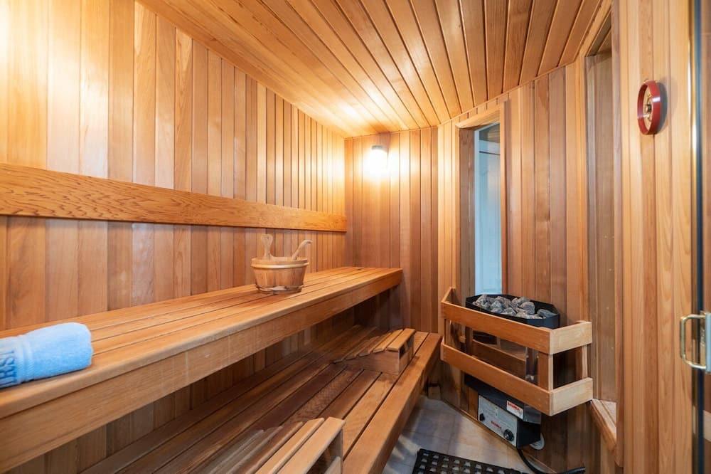 Pokoj Grand s dvojlůžkem - Obývací prostor
