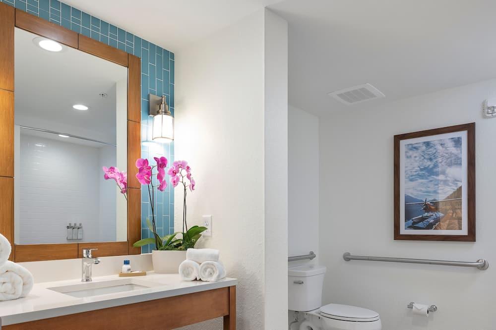 Deluxe Room, 2 Katil Ratu (Queen), Accessible, Marina View - Bilik mandi