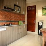 Espaço de cozinha compartilhado