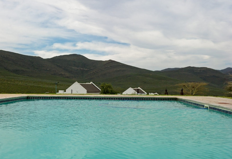 African Game Lodge, Montagu, Outdoor Pool