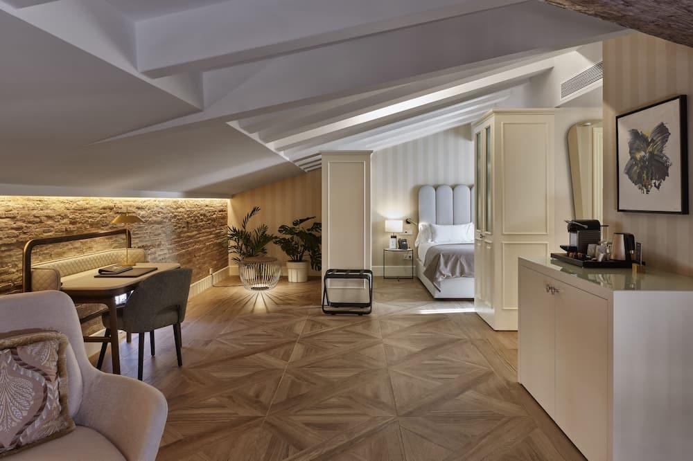 Executive-Doppelzimmer - Wohnzimmer