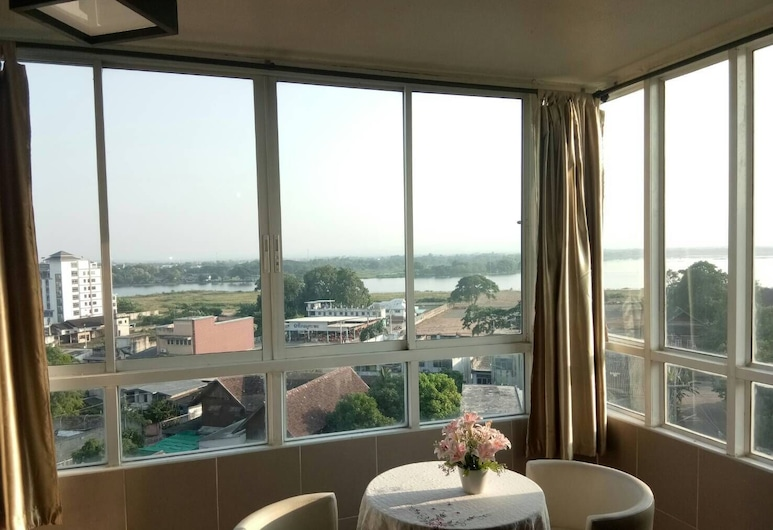 KM Kwanphayao Hotel, Phayao, Suite – honeymoon, Utsikt mot innsjø