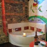 独立别墅, 1 张双人床和 1 张沙发床, 山景 - 私人 SPA 浴缸