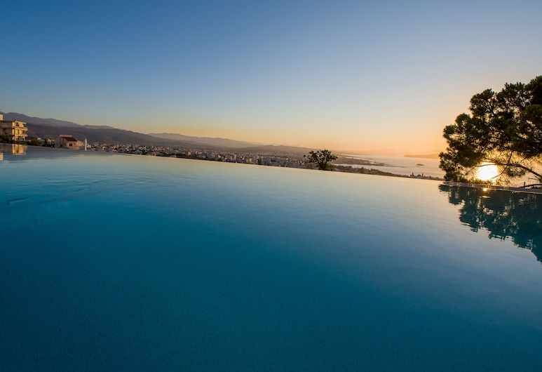 Lagon Life Spirit Boutique Hotel, Chania, Deluxe Room, Private Pool, Sea View, Water view