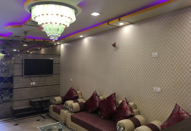 Hotel Hansa Palace, Kanpur, Sitzecke in der Lobby