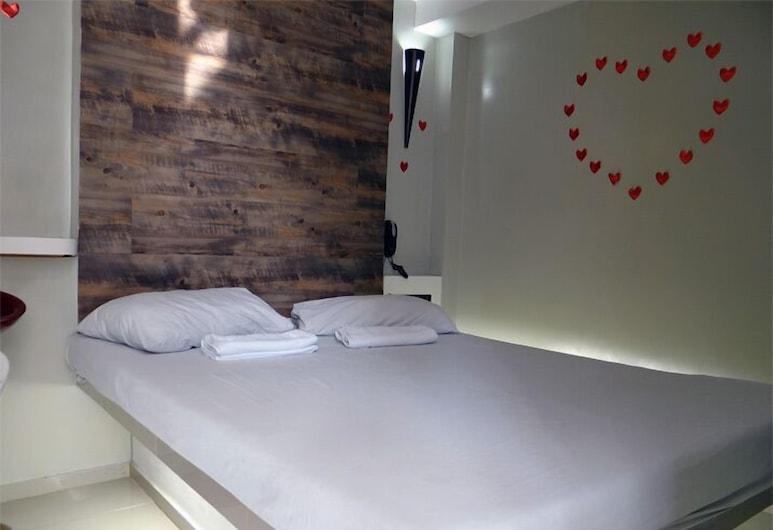 Motel Sobrado, Recife, Tomannsrom – basic, Gjesterom