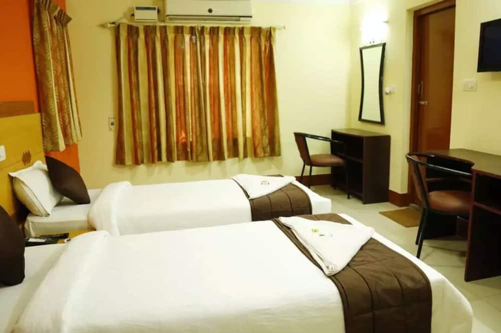 Habitación estándar con 1 cama doble o 2 individuales - Sala de estar