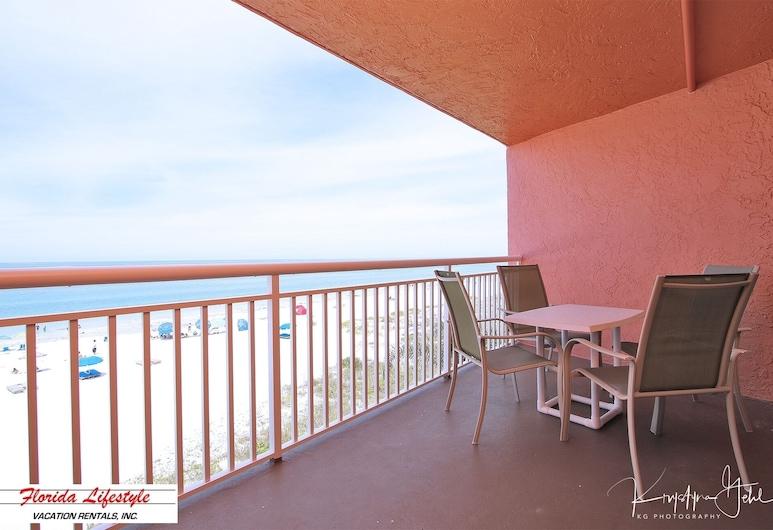 Chateaux 303, Indian Shores, Balkon