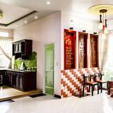 Ubytování ve společné místnosti - Obývací prostor