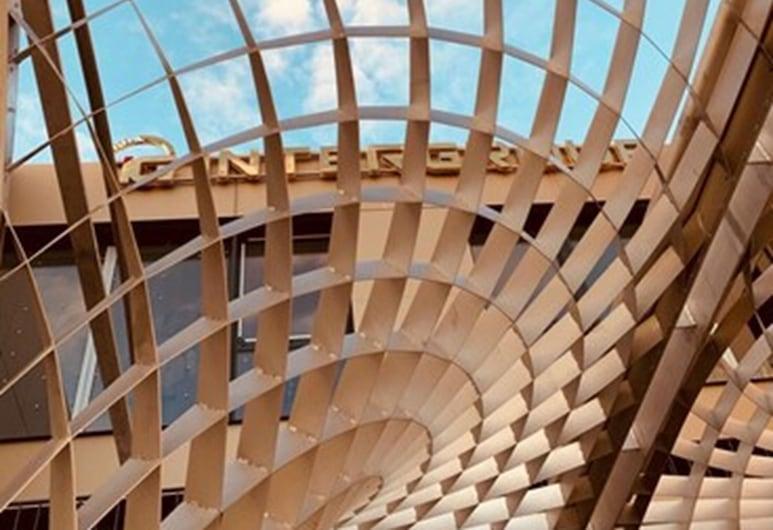 Intergroup Business und Design Hotel, Кёшинг, Вход в отель