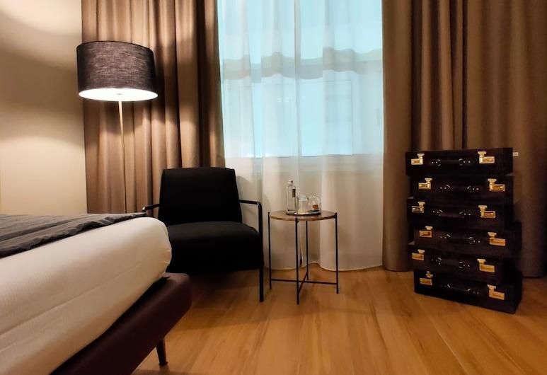 INTOMILAN Aparthotel Galleria Duomo, Μιλάνο, Design Μεζονέτα, 1 Υπνοδωμάτιο, Δωμάτιο