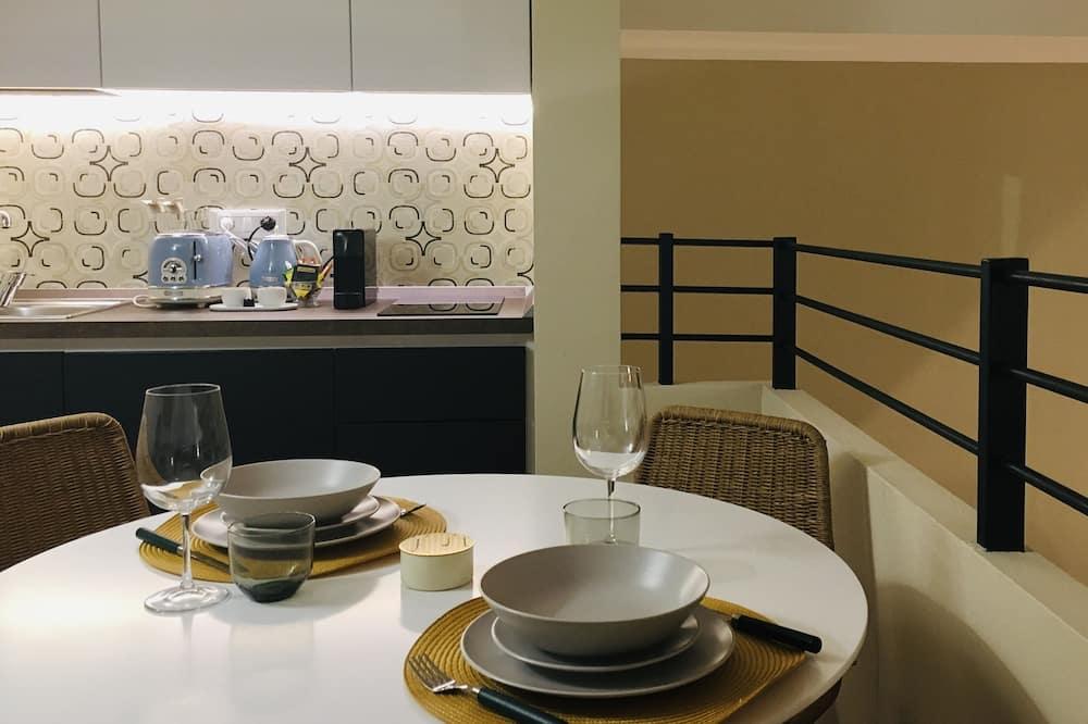 Appartement Duplex Design, 1 chambre - Restauration dans la chambre
