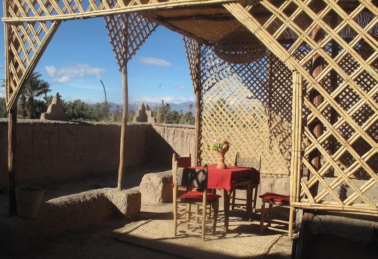 Gîte Kasbah La palmeraie, Skoura, Terassi/patio