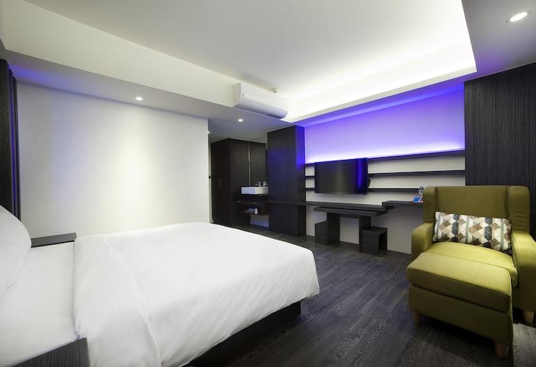 SEVEN FUKUN HOTEL, Jiaoxi, Deluxe tweepersoonskamer, Kamer