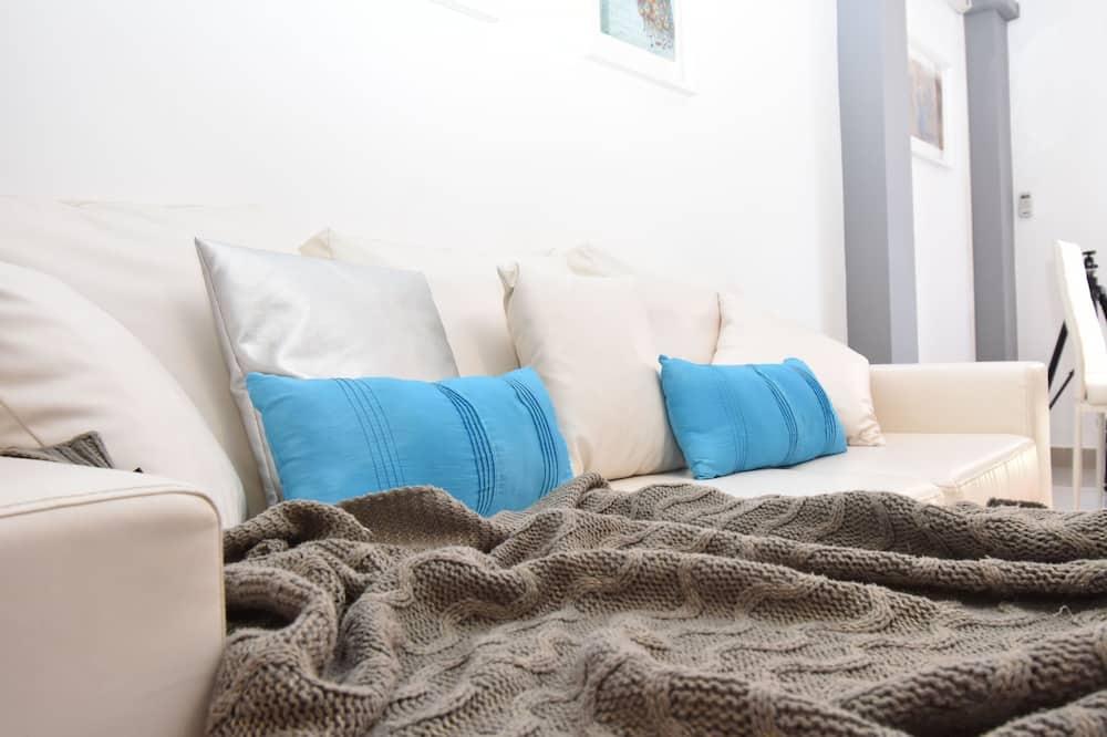 Romantic Διαμέρισμα (San Pietro Flowers) - Περιοχή καθιστικού