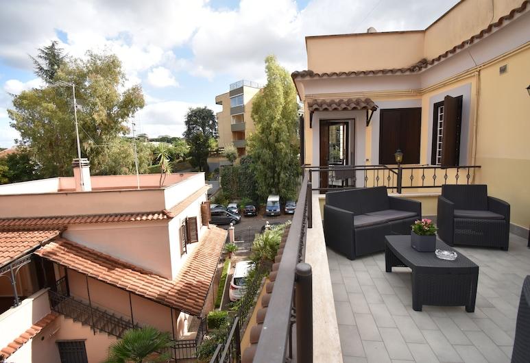 Diasof Apartments, Roma, Terrazza/Patio