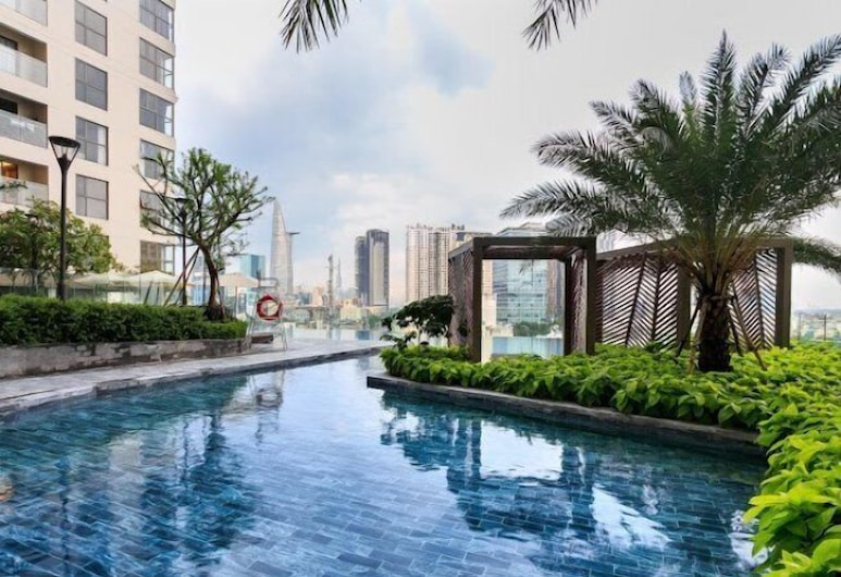 Spice Lodge Millennium Saigon, Ho Chi Minh City, Basen odkryty