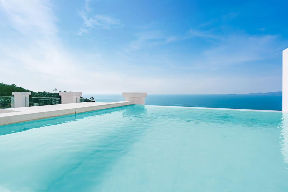 Penthouse Sea View Private Plunge Pool - Приватний басейн