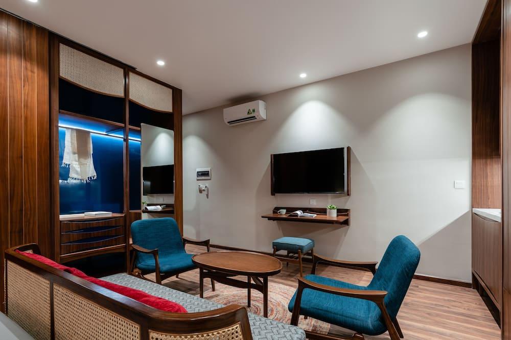 高級頂層客房, 1 間臥室 - 客廳