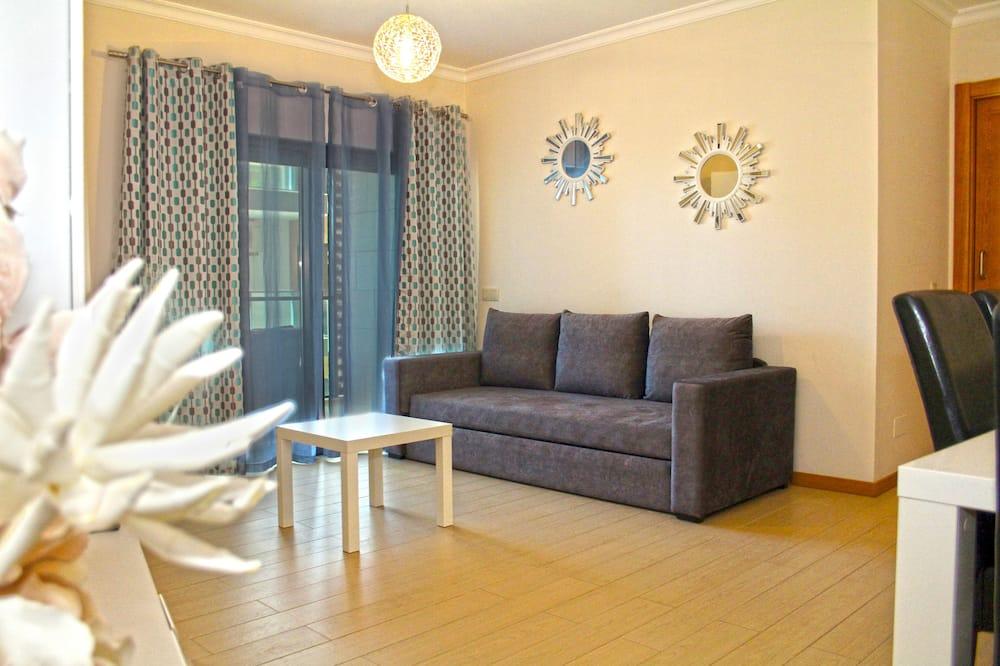 Apartamento básico, 1 habitación, balcón (1) - Zona de estar