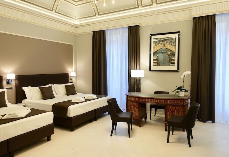 Etnea Style Catania Luxury Rooms, Catania, Izba typu Executive, 2 veľké dvojlôžka, Hosťovská izba
