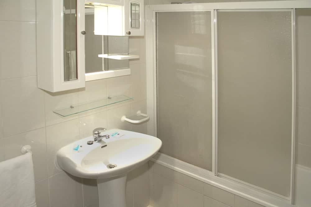 Apartamento, 1 habitación, vistas a la piscina - Cuarto de baño