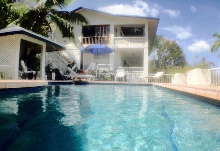 Sea Song Caribbean Villa, Olveston, House, Multiple Beds, Pool