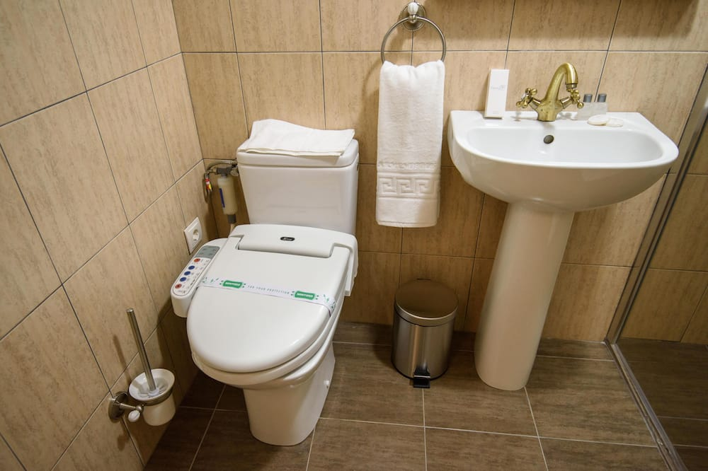 Perushuone yhdelle - Kylpyhuone