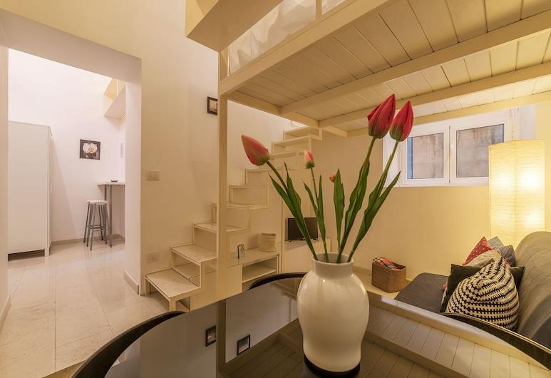 奧塔維亞諾現代閣樓公寓酒店, 羅馬, 公寓, 1 間臥室, 客廳