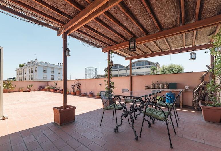 Ostiense Exclusive Terrace Flat, Rome, Apartment, 1 Bedroom, Terrace/Patio