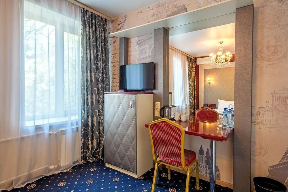 Pokoj Premium s dvojlůžkem - Obývací prostor