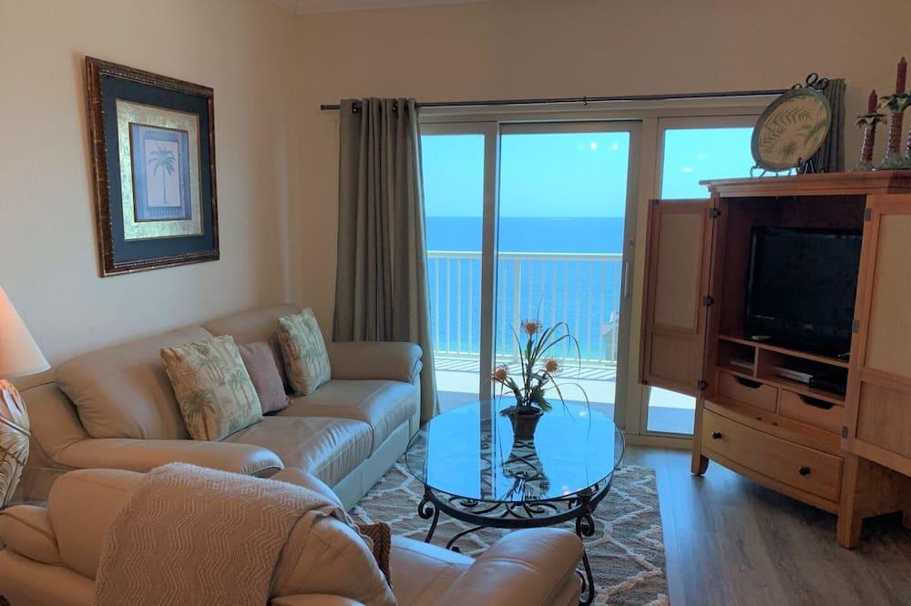 Condo, 2 Bedrooms, Balcony, Beach View (1408) - Living Room