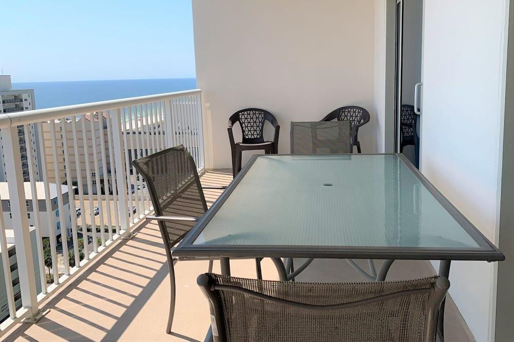 Condo, 2 Bedrooms, Balcony, Beach View (1408) - Balcony
