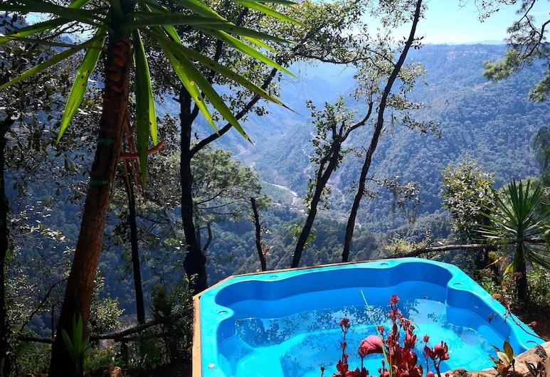 كابانياس كامبامينتو تلاتيمبا, Zacatlán, Yantepetl Cabin, منطقة المعيشة