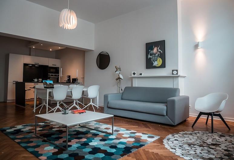 Smartflats Design - Stephanie, BRUSEL, Apartmán typu City, Obývacie priestory