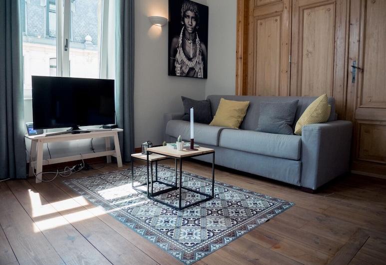 Smartflats - Fripiers, Brüssel, Classic-Apartment, Wohnzimmer