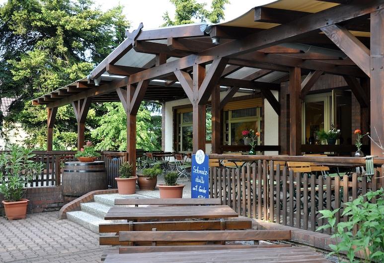 Mini Hotel Übernachten im Gurkenfass, Lübbenau/Spreewald, Terrace/Patio