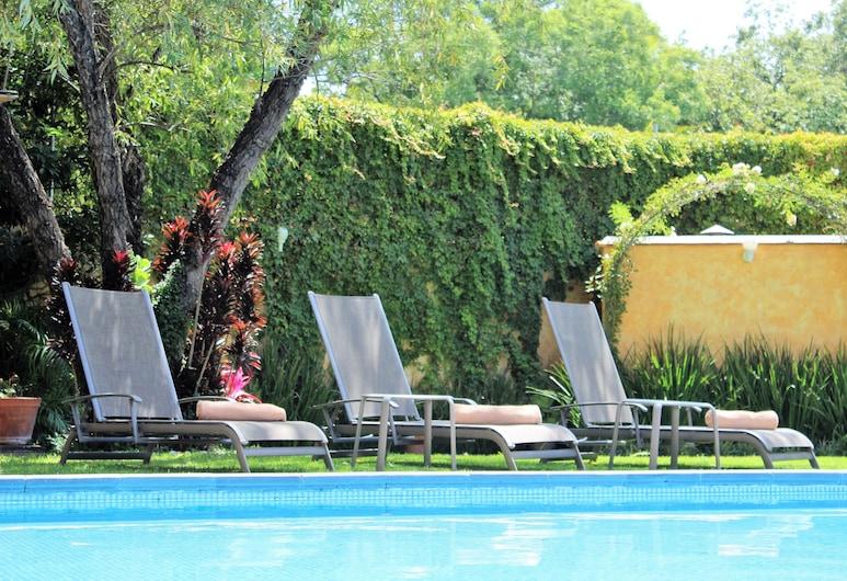 Hotel Boutique La Granja, Te'uis'uiapan, Εξωτερική πισίνα