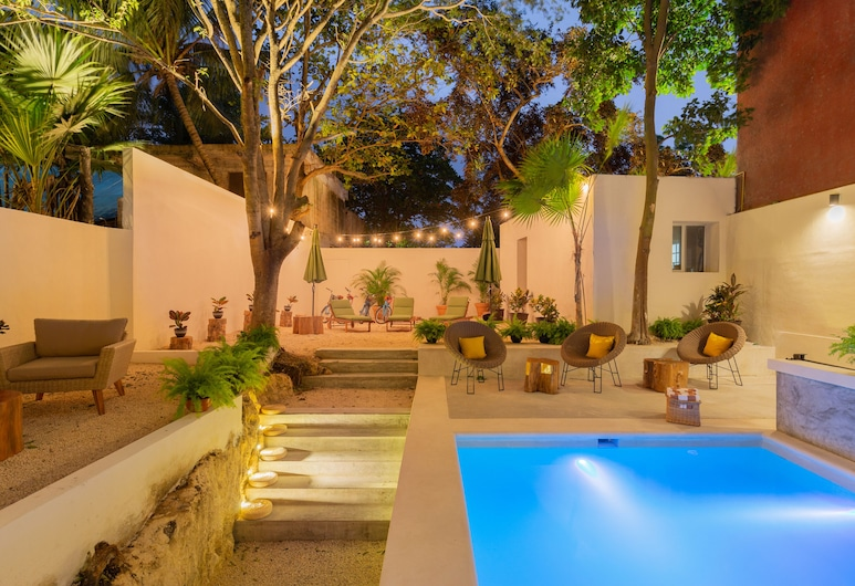 Oostel Smart Hostel -  Adults Only, Tulum, Pool