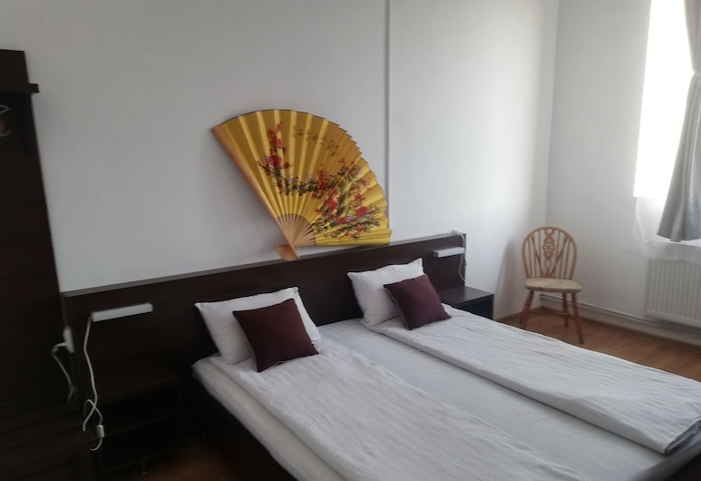 Hostel Valcea, Ramnicu Valcea, Deluxe Double Room, Bilik Tamu